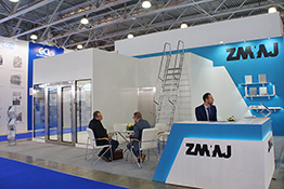 ZMAJ exhibition stand at Pharmtech & Ingredients 2017