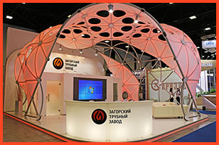 One-of-a-kind Exhibition Stands