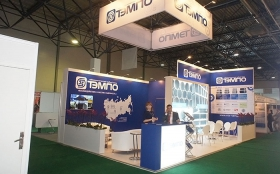 TEM-PO Exhibition Stand at KIOGE 2014