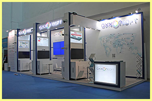 Exhibition Stands in Moscow, Russia and Overseas