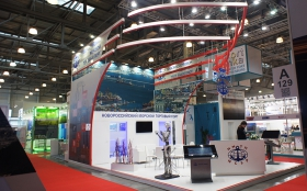 Exhibition Stand at Transport Week 2015