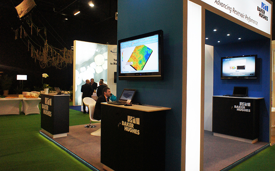 Exhibition Stand Europe : Exhibition stand at shale oil & gas world europe 2014