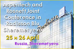 Aspentech and Rosneft Joint Conference in Radisson Blu Sheremetyevo
