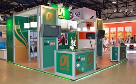 Zarubezhneft Exhibition Stand at Pipe Exhibition in 2011