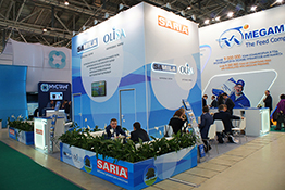 SARIA Exhibition Stand at MVC: Cereals – Mixed Feed – Veterinary 2017
