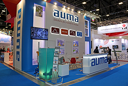 AUMA Exhibition Stand at Saint Petersburg Gas Forum 2018