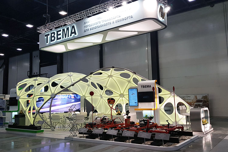 TVEMA exhibition stand at SmartTRANSPORT 2019