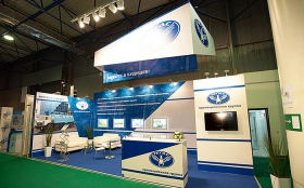 Tegas Industrial Group Exhibition Stand at KIOGE 2013