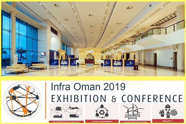The FRESHEXPO team organized GP HPKG Zorya-Mashproekt participation in INFRA OMAN 2019