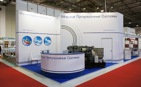 Стенд на выставке Caspian Oil & Gas 2014