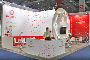 Kaustik Exhibition Stand at Chinaplas 2018