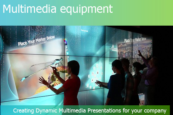 MULTIMEDIA EQUIPMENT for Exhibitions in Russia and Abroad  - FRESHEXPO company