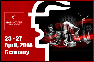 HANNOVER MESSE 2018 opens in the Hannover Exhibition Center with the theme Integrated Industry and Energy