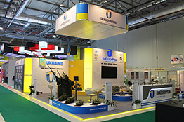 Exhibition Stand at ADEX 2014