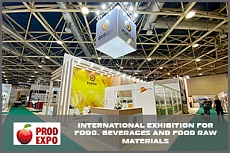 The FRESHEXPO team has developed the design-projects and constructed two exhibition stands for PRODEXPO 2021