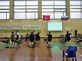 Moscow Open Boat Racing Championship on Rowing Machines